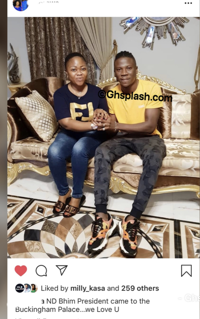 , Stonebwoy Pays Courtesy Call to Rev Obofour's million Trasacco Mansion, GHSPLASH.COM