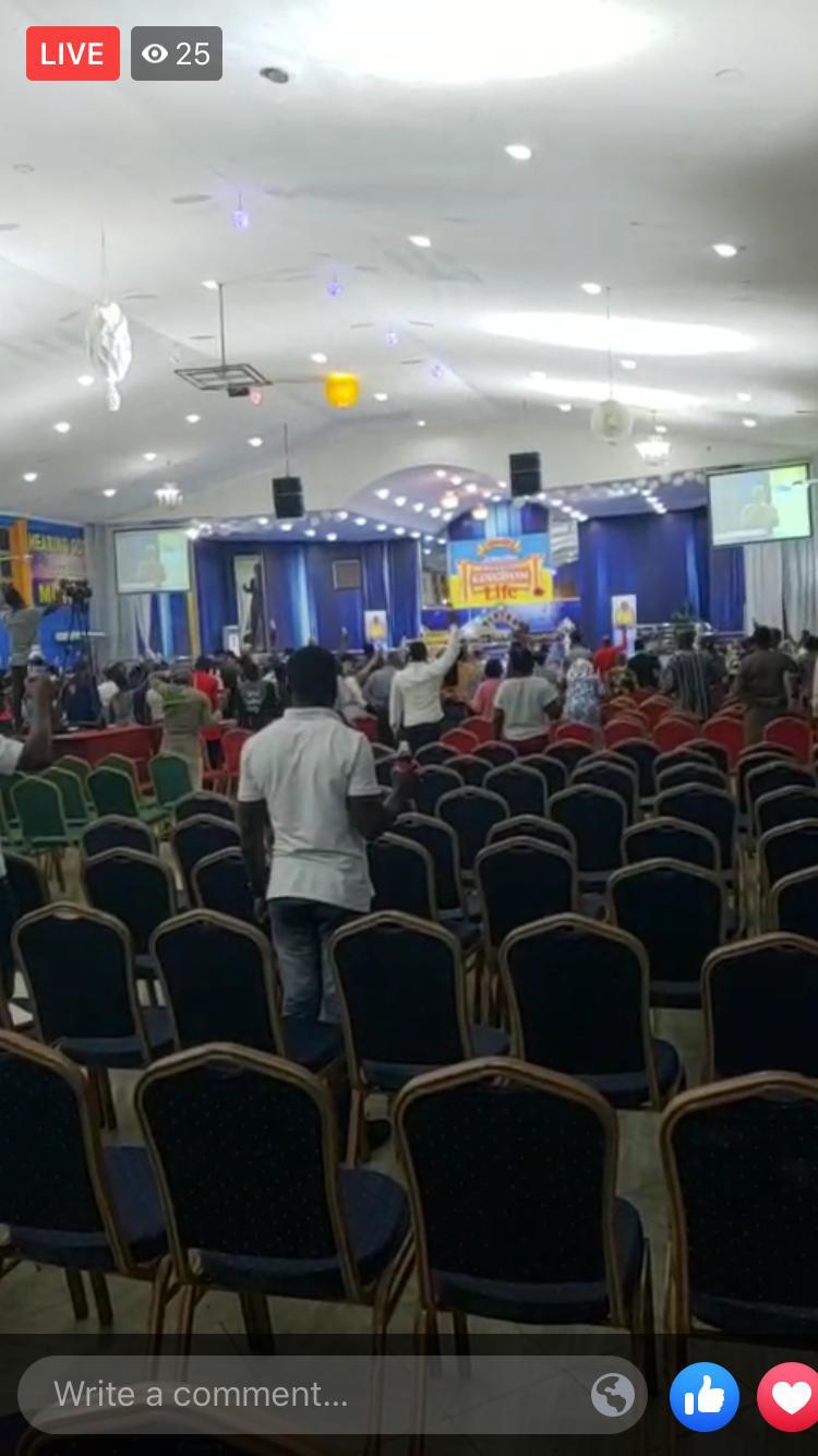 , Photos: Attendance at Badu Kobi's church drops drastically following tribal statement, GHSPLASH.COM