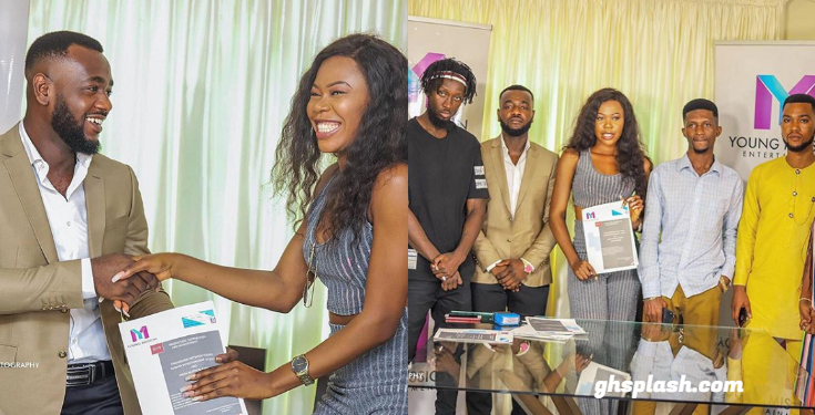 Freda Rhymz signs a 5-year management deal with Young Mission Entertainment