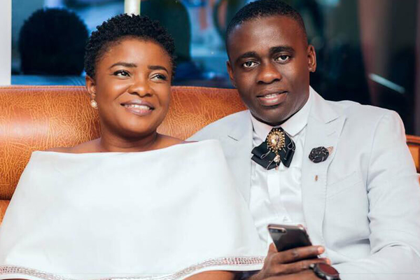 Ohemaa Mercy and husband