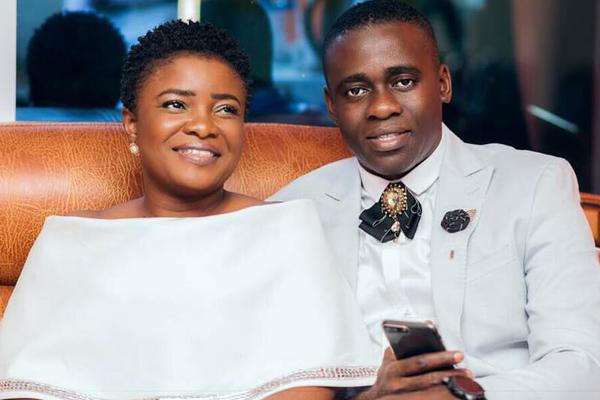 Ohemaa Mercy and husband