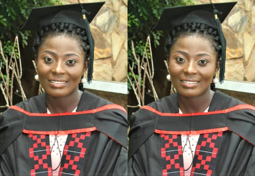 Lady who sold 'Akpeteshie' at Agbogbloshie Graduates as a Medical Doctor