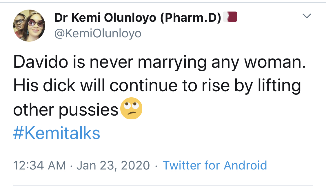 ", ""Davido is never marrying anyone; His d1ck will continue to rise by lifting other pʋssiɛs"" – Dr. Kemi, GHSPLASH.COM, GHSPLASH.COM"